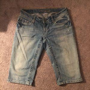 American Eagle jean Bermuda shorts